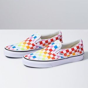 Rainbow Vans!